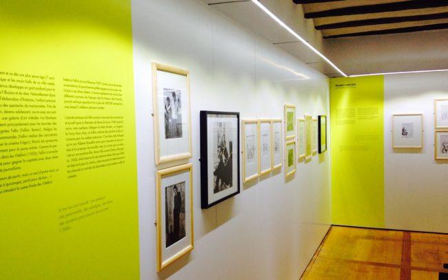 Expositions - Fondation Fellini pour le cinéma - Impression et collage sur parois