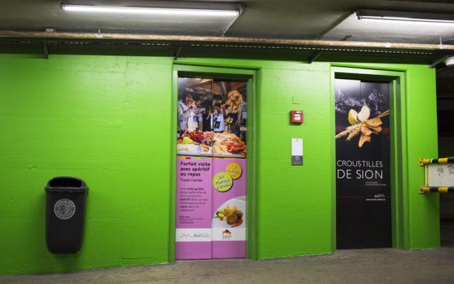 Décorations Créations - Porte Ascenseur Planta