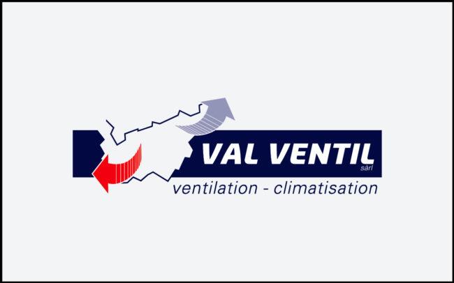 Logos - Val Ventil Ventilation - Climatisation