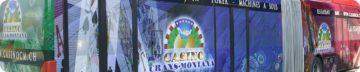 Véhicules - Casino Crans-Montana - Banderole - Walzer Publicité