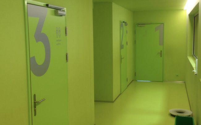 Signalisations - Centre sportif de Fully - Adhésif sur portes